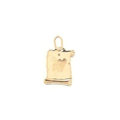 Wassermann Sternzeichen Anhänger Gold 585/000