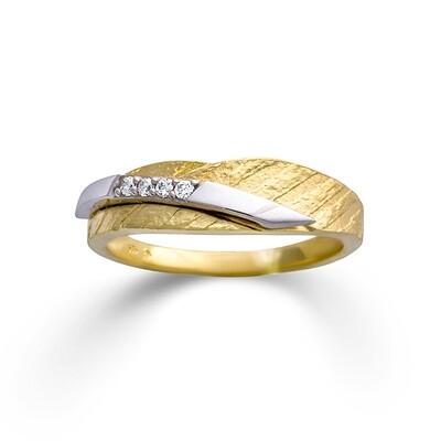 Gelbgold Ring mit Zikonia