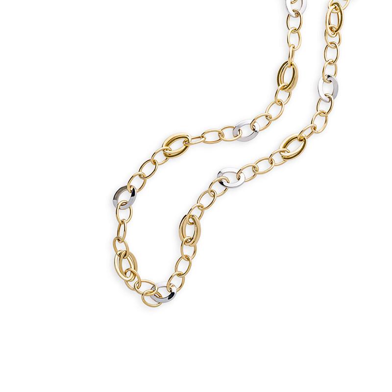 Collier Halskette  in Gold 585, 45cm