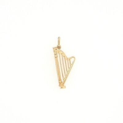Gold Anhänger Harfe 585 / 000