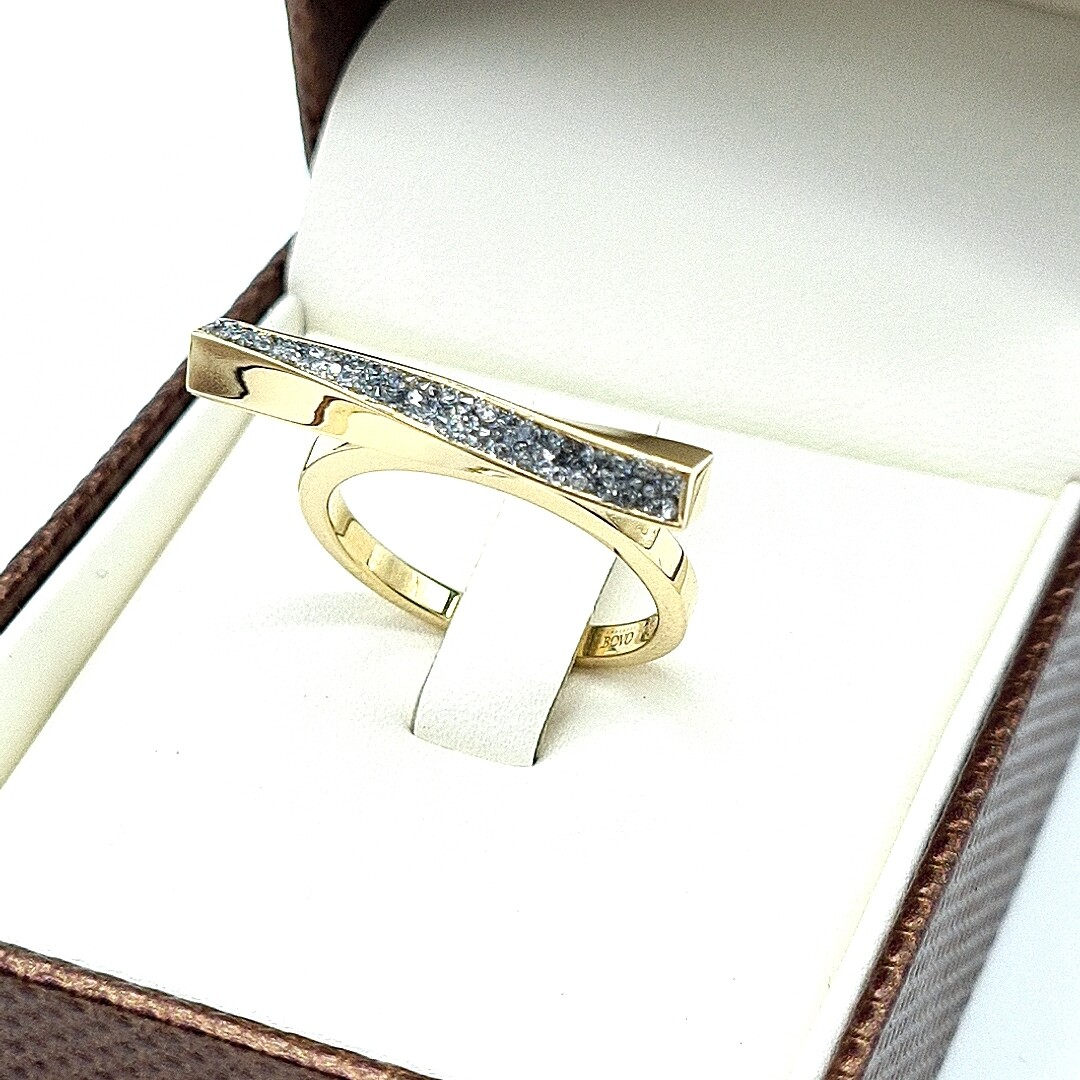 Gelbgold Ring 585