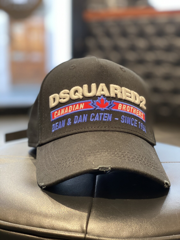 DQUARED2 Cap - Canadian Brothers - black