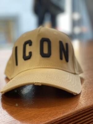 DSQUARED2 Cap - ICON beige/black