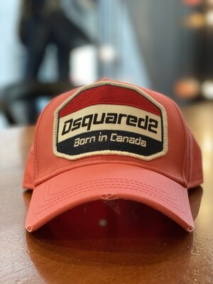 DSQUARED2 Cap - Born in Canada - rosa
