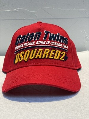 DSQUARED2 - Cap TWINS, red