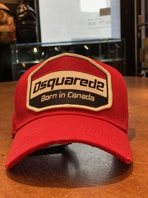 DSQUARED2 • Cap BORN IN CANADA, red