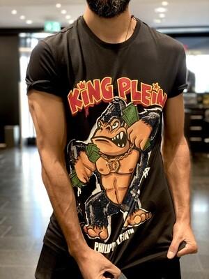 PP • T-Shirt KING PLEIN, black