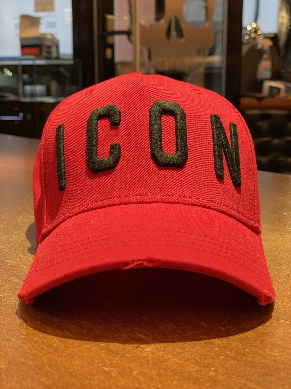 D2- ICON Cap red-black