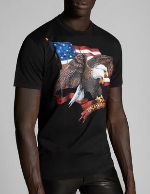 D2 T-Shirt EAGLE, black
