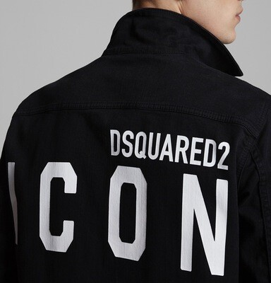 D2 Denim Jacket ICO, black