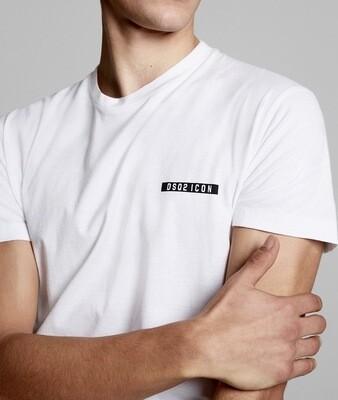 D2 T-Shirt DSQ2 ICON, white