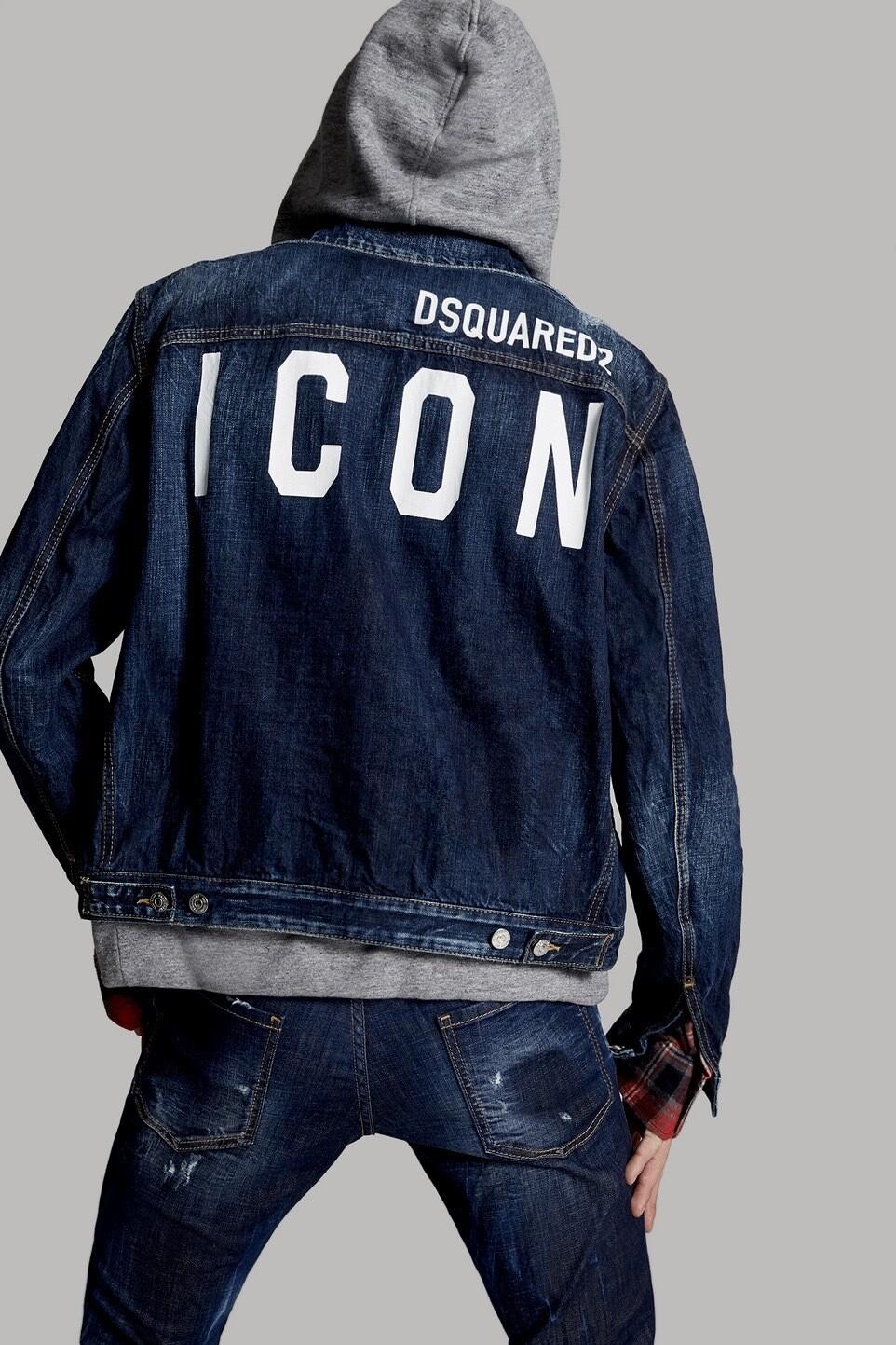 D2 DENIM Hoodie ICON Jacket