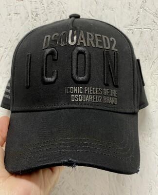 D2 Cap ICON black-black