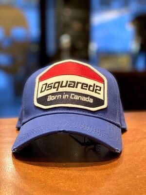 D2 Cap BORN IN CANADA, blue