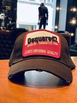 D2 Cap LOVES ORIGINAL QUALITY, black