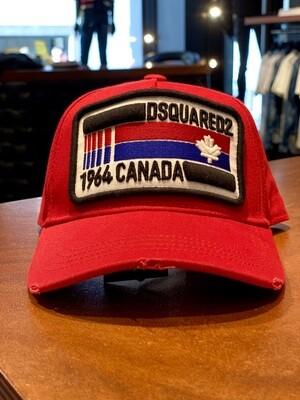 D2 Cap 1964 CANADA, red