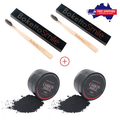 [Multisale] Partner Pack - Charcoal Powder & Toothbrushes