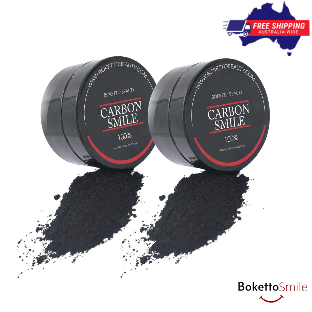 [Twin Pack] Boketto Charcoal Powder