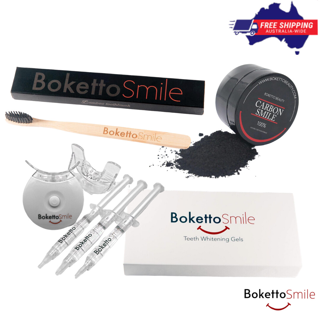 [Full Package] Boketto Teeth Whitening Kit