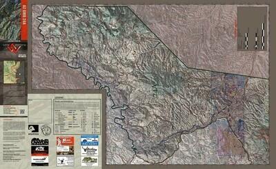Flatline Maps Arizona Hunt Unit 24A