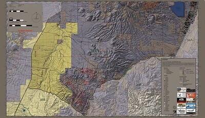 Flatline Maps Arizona Hunt Unit 36A
