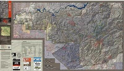 Flatline Maps Arizona Hunt Unit 24B