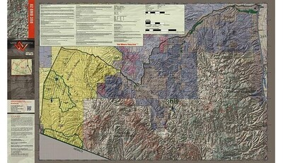 Flatline Maps Arizona Hunt Unit 36B