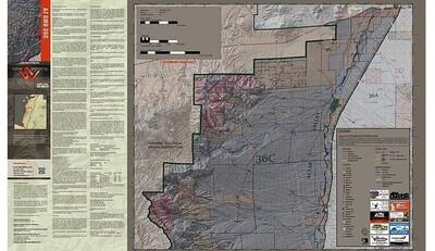 Flatline Maps Arizona Hunt Unit 35 B