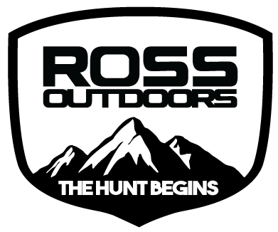 Ross Outdoors Badge Decal-The Hunt Begins