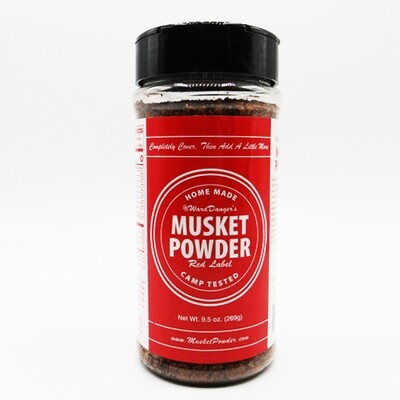 Musket Powder Red Label Seasoning