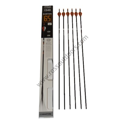 Easton 6.5mm Hunter Classic 6 Pack Arrows