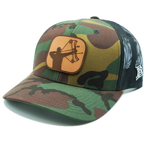 Ross Outdoors Branded Bills Camo Archer Hat