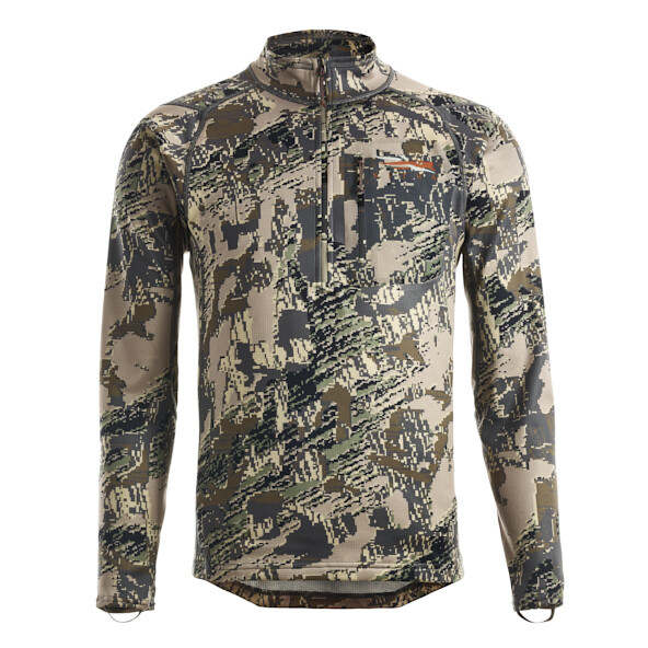Sitka Core Midweight Zip-T Optifade Open Country