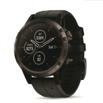 Garmin Fenix 5 Plus Multisport GPS Watch, Sapphire Edition