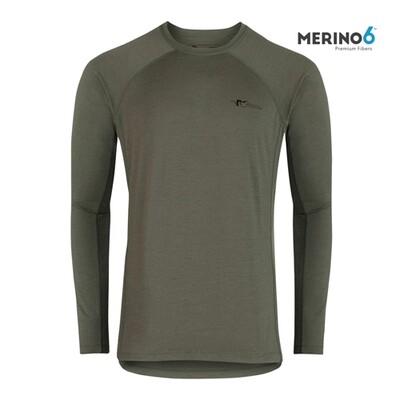 Stone Glacier Merino Crew Long Sleeve Shirt