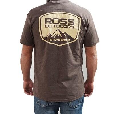 Ross Outdoors Crest Tee