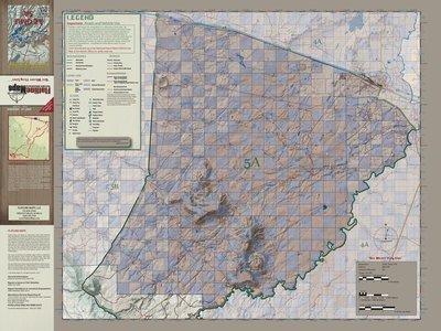 Flatline Maps Arizona Hunt Unit 5A