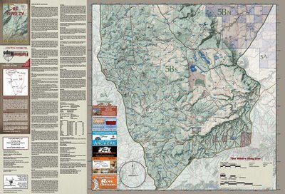Flatline Maps Arizona Hunt Unit 5B