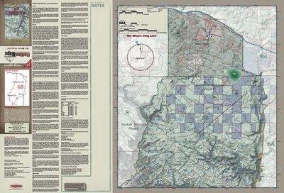 Flatline Maps Arizona Hunt Unit 6B