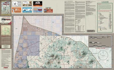 Flatline Maps Arizona Hunt Unit 7 West