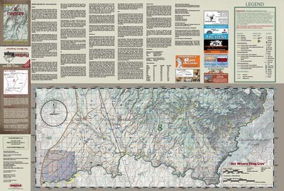 Flatline Maps Arizona Hunt Unit 8
