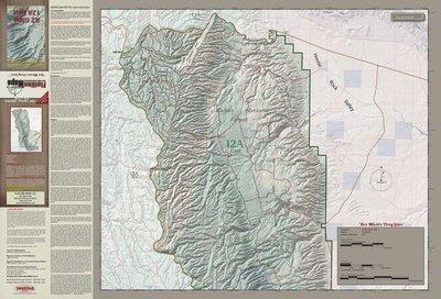 Flatline Maps Arizona Hunt Unit 12A East