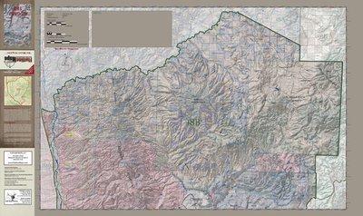 Flatline Maps Arizona Hunt Unit 18B