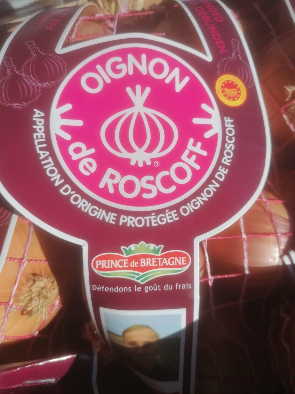 Oignons de Roscoff (AOP) filet 1 kilo