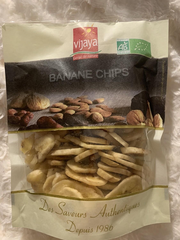 Banane chips 125gr BIO