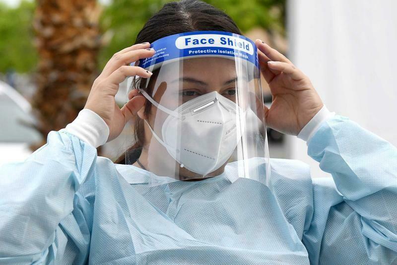 Protective Medical Faceshield