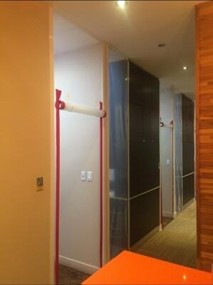 Zipper Strip Door