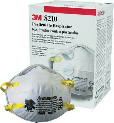 3m Mask 8210 Pack/20