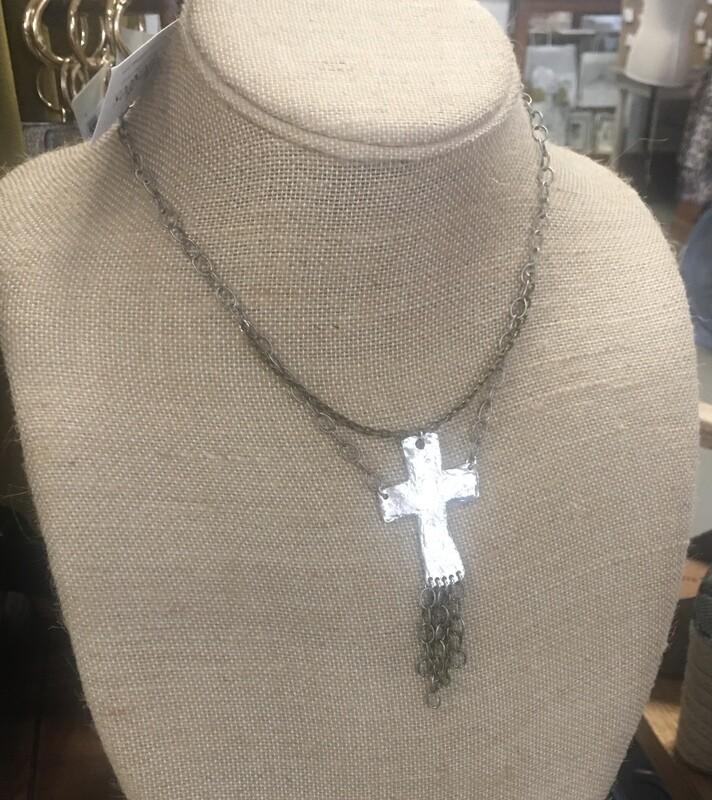 Necklace Hammered