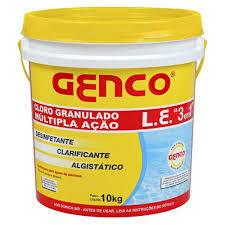 Cloro Granulado Multi Ação 3em1 10kg Genco